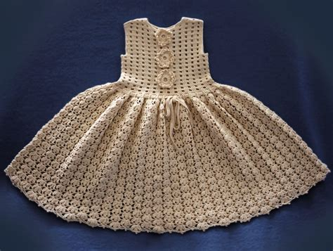 Crocheted baby dress patterns crochet patterns