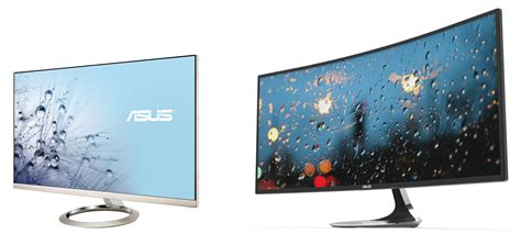 4k display asus offers yet another curved monitor plus a 4k display