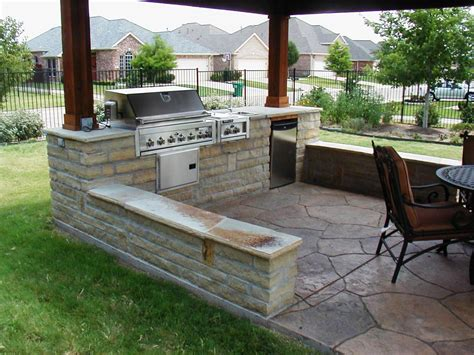 outdoor cooking area plans 28 bbq area design ideas for cool bbq backyard