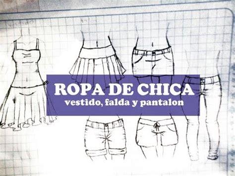 como dibujar vestidos fotos como dibujar ropa anime manga parte 1 pantalones falda y
