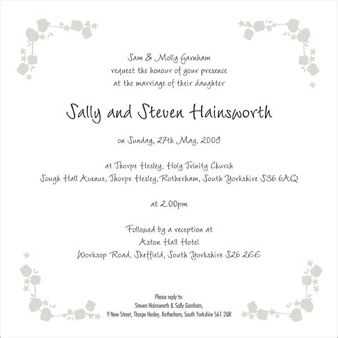 inside wording of wedding invitations the fairytale wedding stationery collection by pink polar
