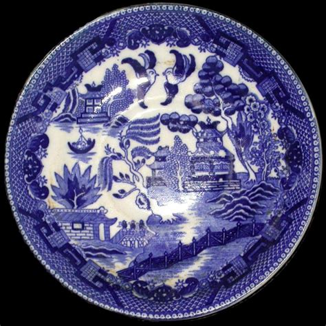 willow pattern blue and white willow pattern wikipedia