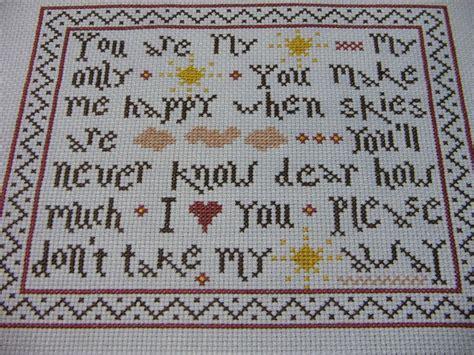 cross stitch pattern you are my sunshine you are my sunshine cross stitch pinterest sunshine