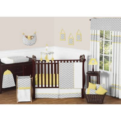 Yellow Chevron Crib Bedding Sweet Jojo Designs Zig Zag Chevron Crib Bedding Collection In Grey Yellow Www Buybuybaby