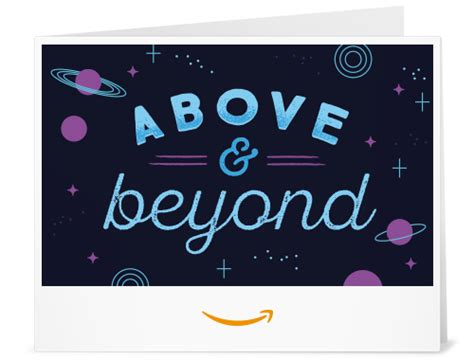 Amazon Gift Card Cancel Order - amazon com amazon gift card print above and beyond gift cards
