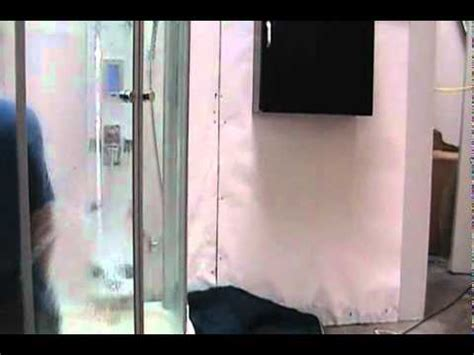 how to make a steam room in your bathroom how to build a steam room inside your shower model
