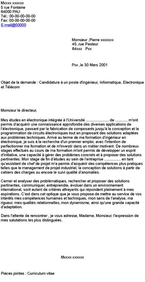 Lettre De Motivation Vendeuse Cigarette Electronique Doc Lettre De Motivation Demande D Emploi Ingenieur Informatique