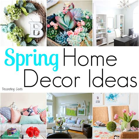 home decor trends spring 2016 decorating cents spring home decor ideas