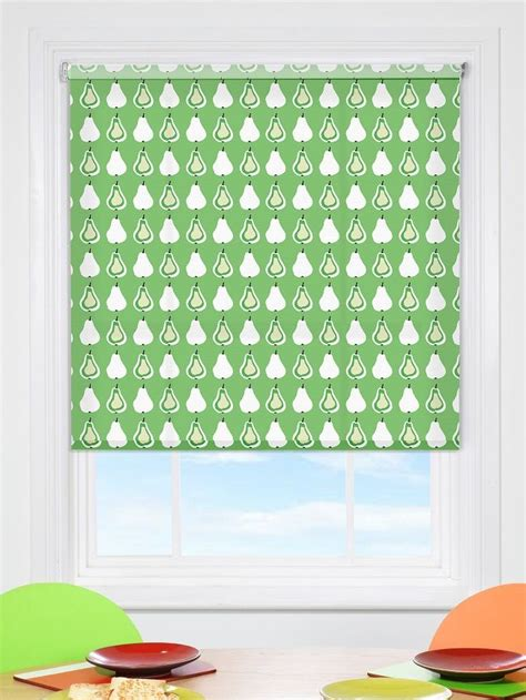 winterdecke 200x220 kitchen blinds green shade in lime green for san