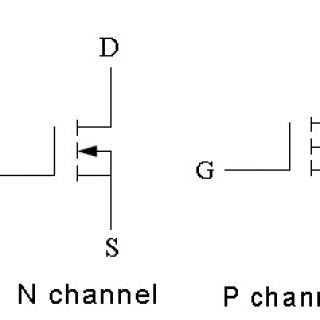 electronic schematic symbols mosfet electronic get free