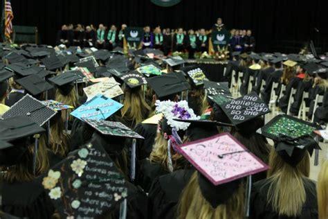 graduation hat the creative den hats off to these creative grad caps inside uw green