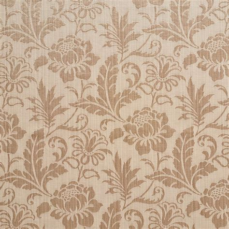 upholstery fabric shop a0100e beige two toned floral metallic sheen upholstery