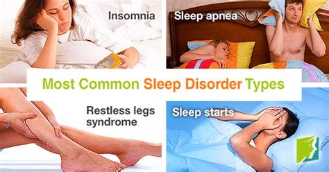 7 Signs You Sleeping Problems by Most Common Sleep Disorder Types