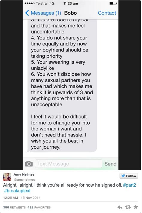 8 Wrong Reasons To Up With Your Boyfriend by The Who Got This Insanely Viral Breakup Text Has Told