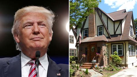 donald trump s house donald trump s childhood in queens new york is for sale