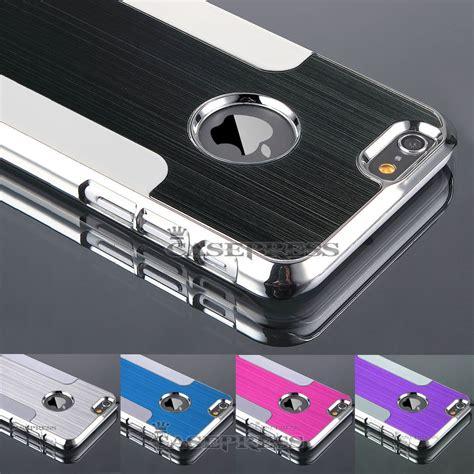 Iphone 6 Aluminium Back for iphone 6 4 7 quot ultra slim metal aluminium pc