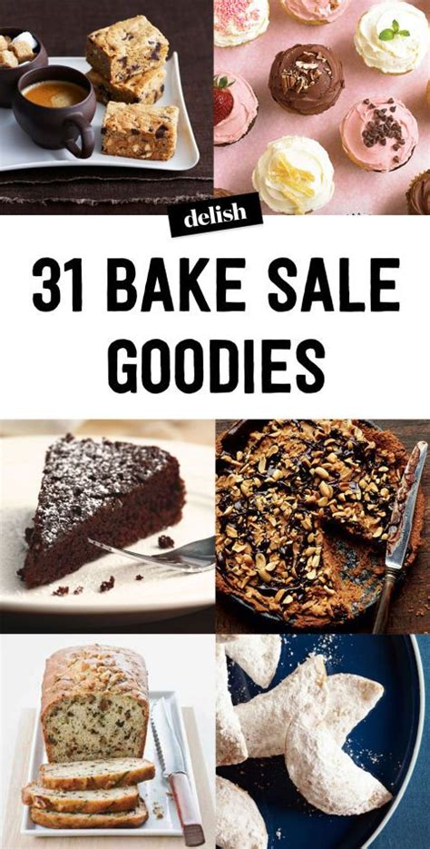 easy to bake new year goodies bake sale dessert recipes bake sale goodies and forget
