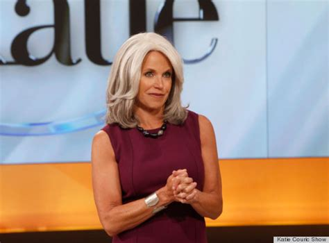 katie couric blonde hair color beauty tips hairstyles katie couric debuts gray hair on the katie show photo