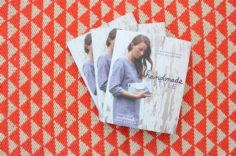 Handcrafted Modern Book - anna s new book handmade style 2 book giveaway made