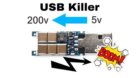 Usb Killer what is a usb killer why they use it