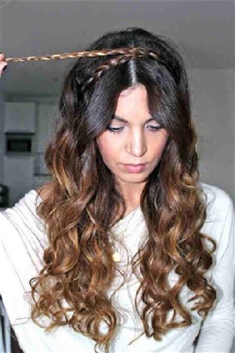 tutorial curly rambut menggunakan catok tutorial rambut wanita gaya kepang ganda headband
