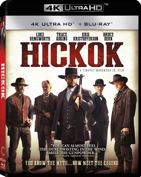 film blu ray uhd hickok dvd release date august 15 2017