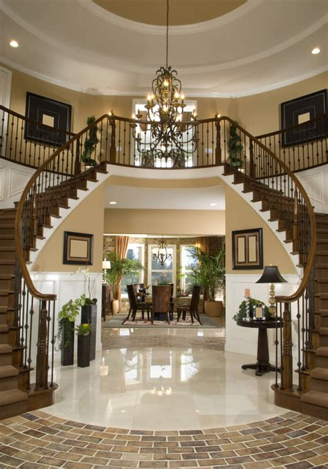 Entry Stairs Design 45 Custom Luxury Foyer Interior Designs