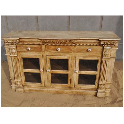 solid wood buffet cabinet credenza dining room sideboard