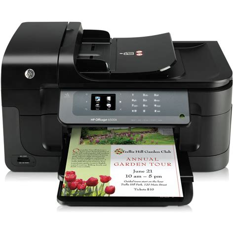 Printer Hp Officejet All In One hp officejet 6500a e all in one inkjet printer cn555a b1h b h