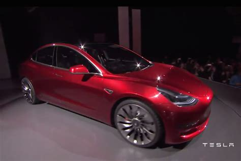 Tesla Model 3 Price 2017 Tesla Model 3 Unveiled Specifications And Price