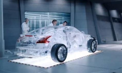 vid 233 o shell fait construire une voiture transparente