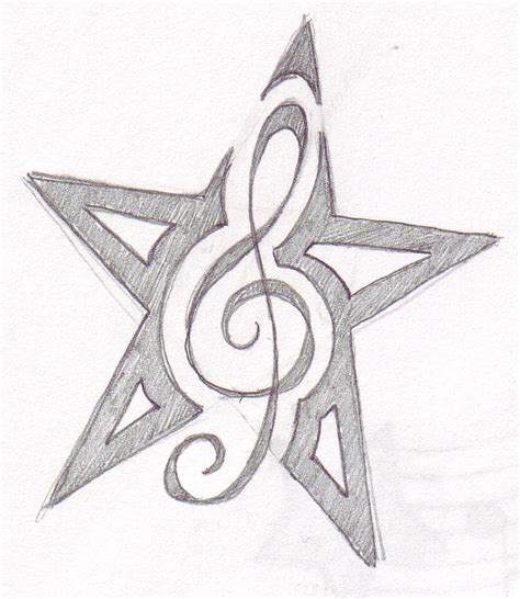 music notes with stars tattoo designs urapdiba tattoos designs