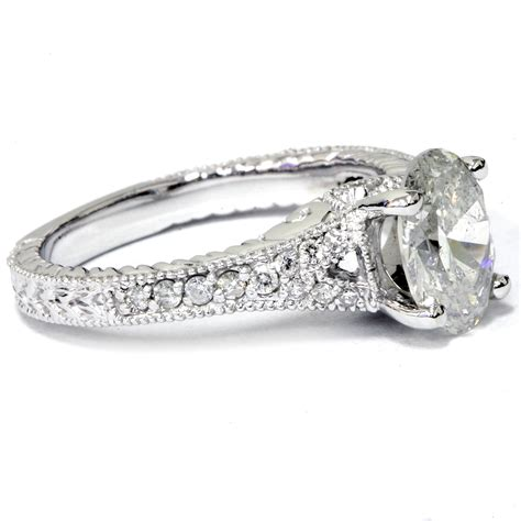 1 1 4ct oval vintage engagement ring solitaire
