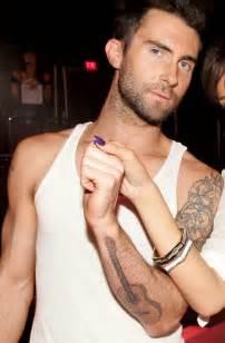 Adam levine tattoo pics photos pictures of his tattoos