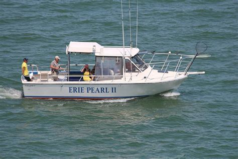 charter boat fishing lake erie erie pearl charters