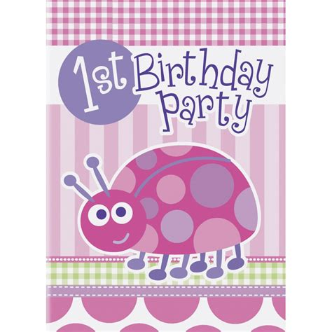 1st birthday invitations uk birthday ladybug invites from all you need to uk