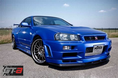 nissan r34 paul walker paul walker s f f nissan skyline r34 gt r is up for sale