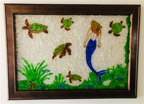 sea glass art gallery dr jacks sea glass art