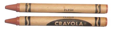flesh colored crayon a brief yet complex color history of crayola crayons