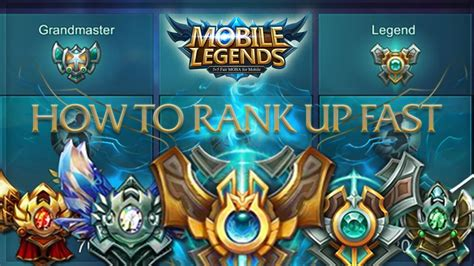 mobile legend ranking mobile legends how to rank up to legend fast