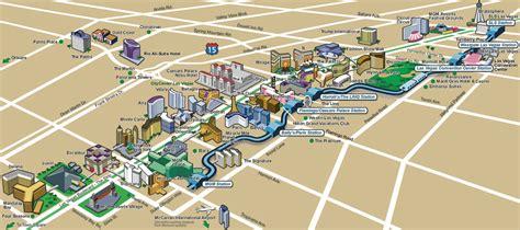 las vegas tram map las vegas map