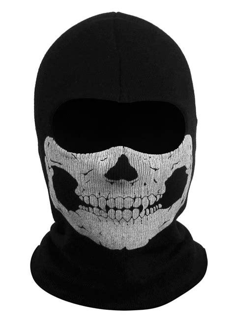 Balaclava Masker Skull Cap Alpinestars 1 new white house black ghost skull balaclava ski