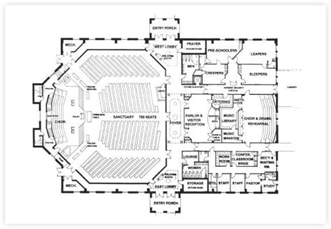 Church Floor Plans Free Free Church Building Plans Church Designer Church Building Plans Vision Ministry