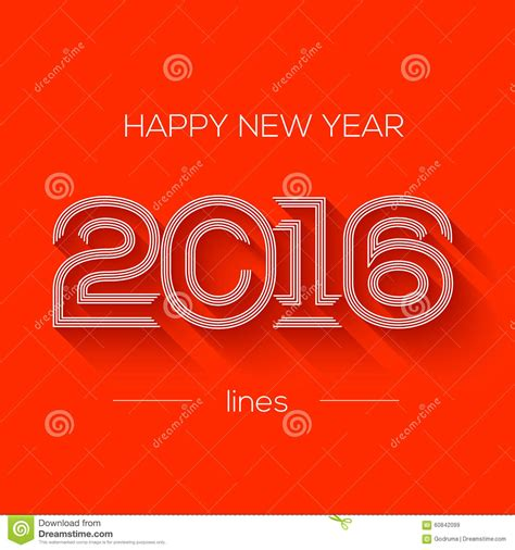 creative happy new year 2016 creative happy new year 2016 design flat design stock