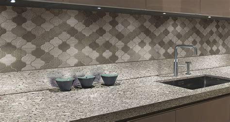 Kitchen Backsplash Trends kitchen room scene moon white granite countertop