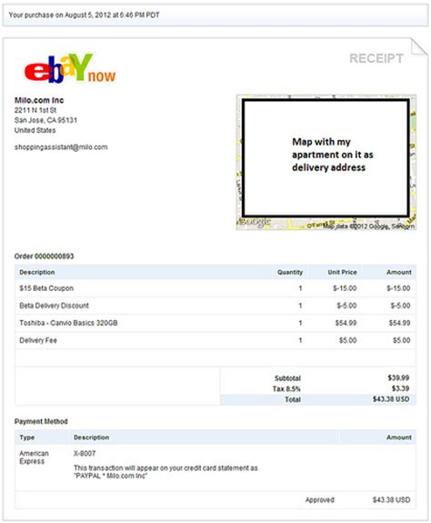 Ebay Receipt Template ebay now receipt flickr photo