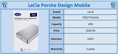 Harddrive New 1tb P9227 Porsche Design Usb C Mobile Nstfd1000402 p9227 porsche design mobile drive 4tb usb c review