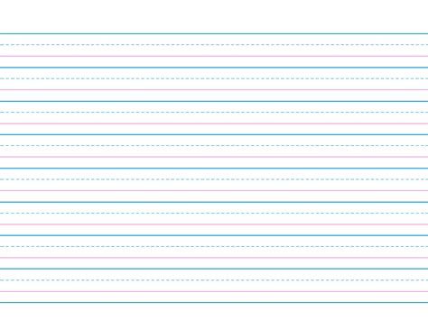 elementary writing paper free printable primary lined and regul on