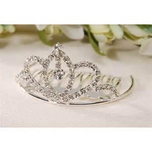 Tiara Favors by Mini Tiara Comb Dangle Rhinestone S Jewelry