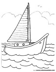 Pages Animal Coloring And Printable Adult Ocean Boat sketch template